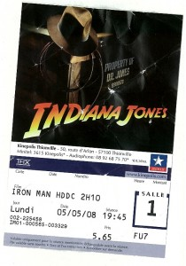 ticket cinema iron man