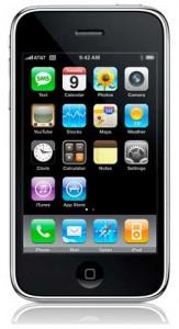iPhone de face